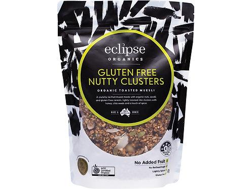 ECLIPSE ORGANICS Organic Muesli Gluten Free Nutty Clusters - 400g