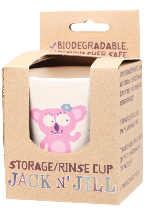 JACK N' JILL Storage/Rinse Cup Biodegradable Koala - 1