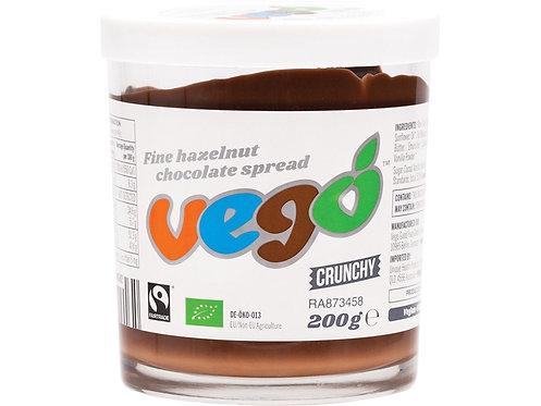 VEGO Hazelnut Chocolate Spread Crunchy - 200g