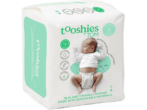 TOOSHIES BY TOM Nappies Newborn - <5kg - 38