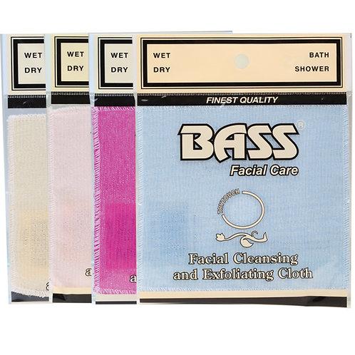 BASS FACIAL CARE Exfoliating Facial Cloth