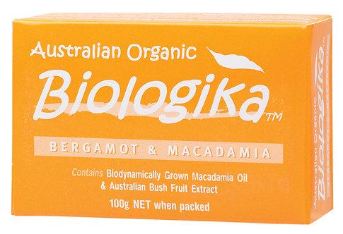 BIOLOGIKA Soap Bergamot & Macadamia 100g