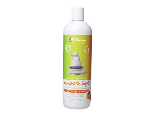 ECOLOGIC Dishwash Liquid Sweet Orange & Clementine - 500ml