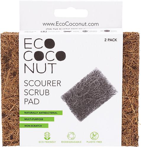 ECOCOCONUT Scourer Scrub Pad - 2