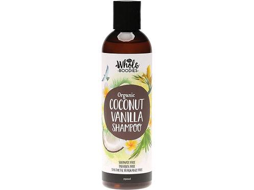 THE WHOLE BOODIES Shampoo Coconut Vanilla - 250ml