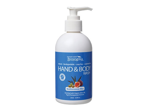 BIOLOGIKA Hand & Body Wash Mediterranean Bliss - 250ml