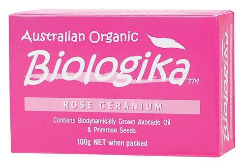 BIOLOGIKA Soap Rose Geranium - 100g