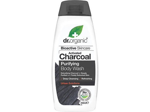 DR ORGANIC Body Wash Activated Charcoal - 250ml