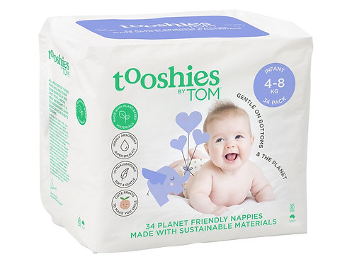TOOSHIES BY TOM Nappies Infant - 4-8kg - 34