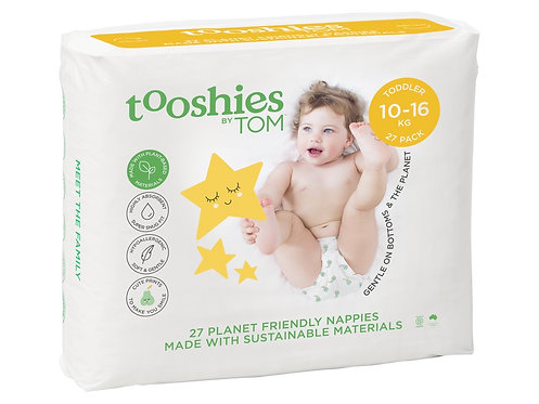TOOSHIES BY TOM Nappies Toddler - 10-16kg - 27