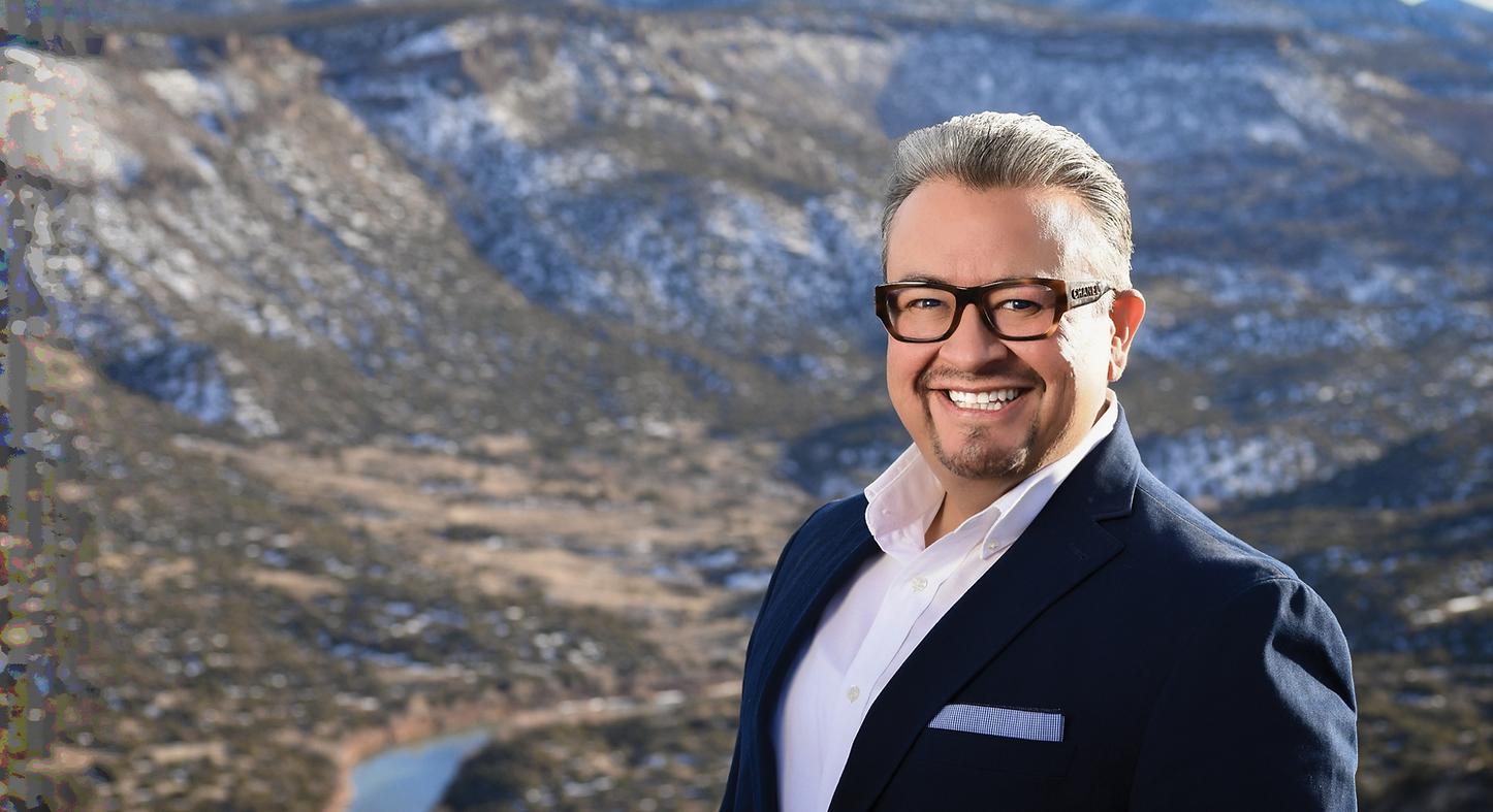 Leo Jaramillo in Espanola Mountains of New Mexico