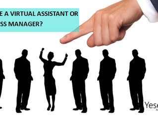Can just anyone be a Virtual Assistant or Online Business Manager?