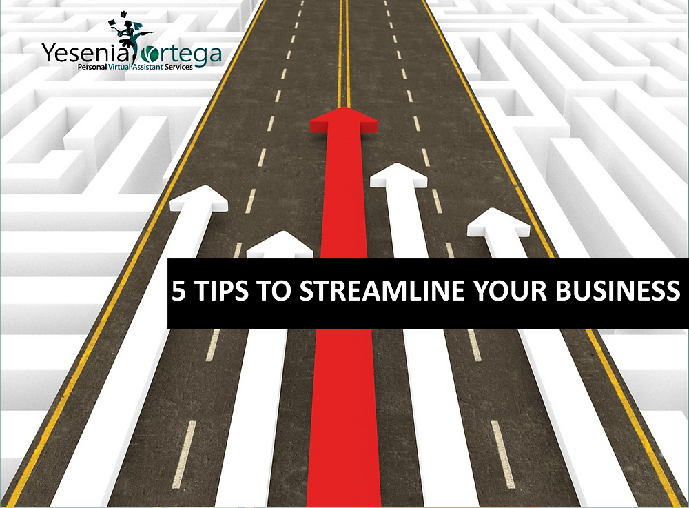 Streamline your Small Business
