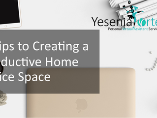 5 Tips to Creating a Productive Home Office Space