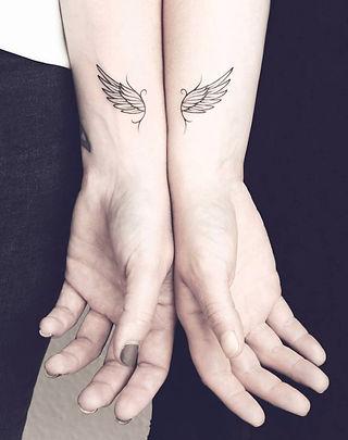 Couple Tattoos at Aliens Tattoo