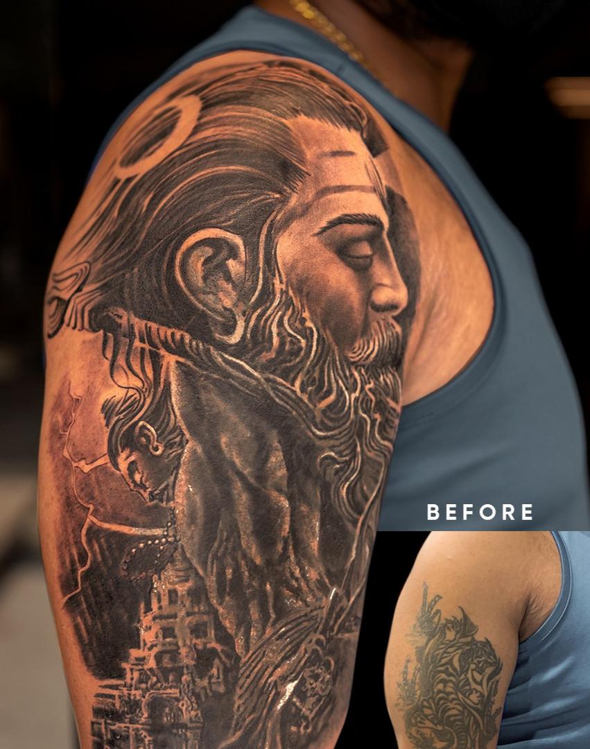 Shoulder Coverup Tattoos
