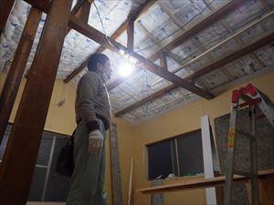 ハニカムラボ天井あらわしリノベーション