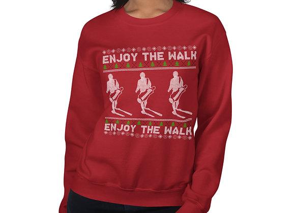 Enjoy The Walk - Christmas Sweater