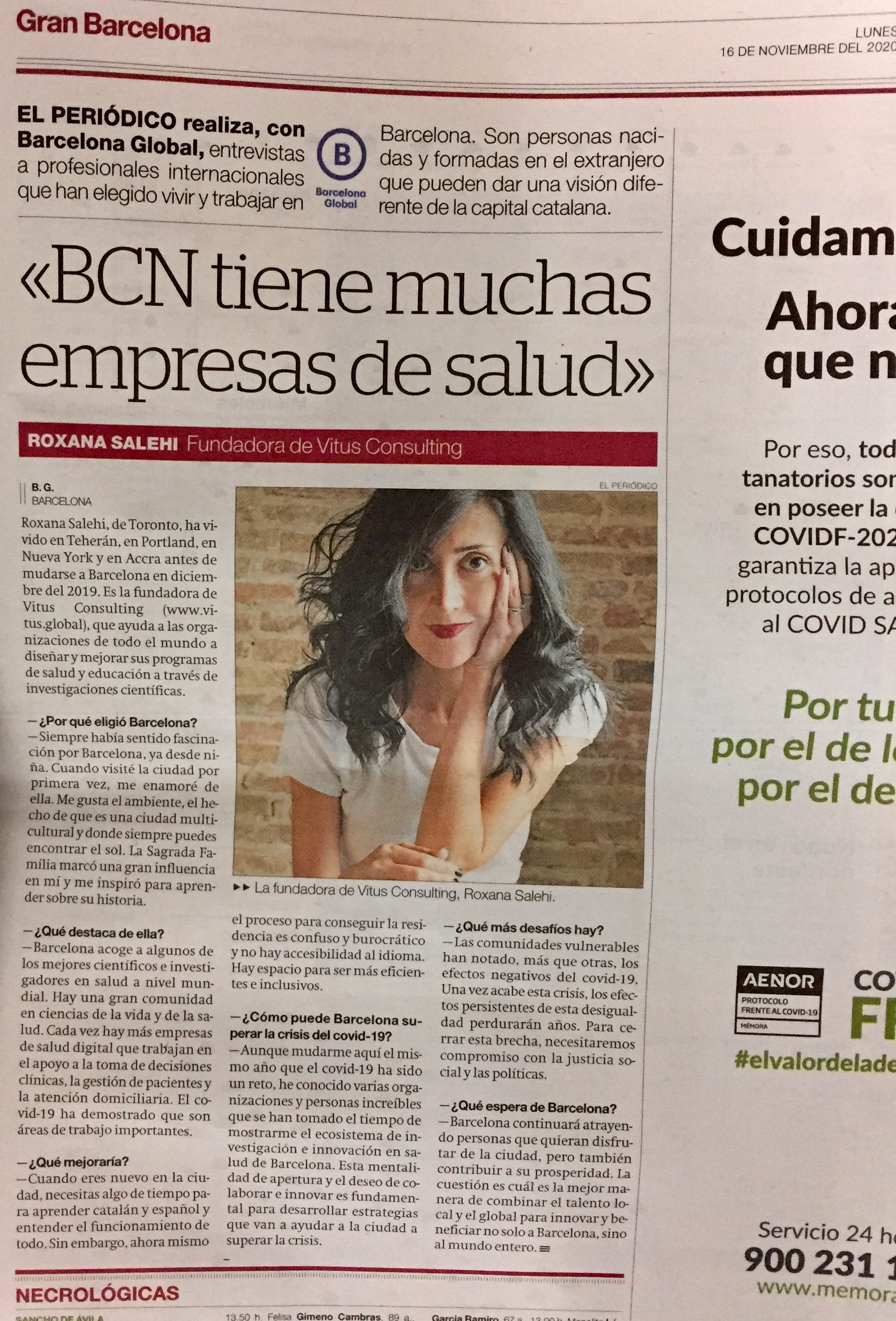 El Periodico Interview