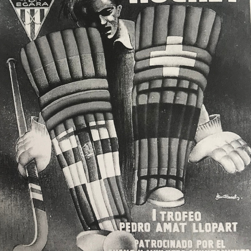 Cartel Torneo Tarrasa 1954