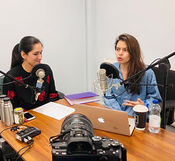 Maya Gudka and Aarti Bhanderi-Shah on your plate podcast