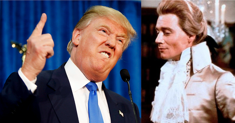 Donald J. Trump. Anthony Andrews as The Scarlet Pimpernel (1982)