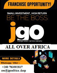 *JGo is looking for city Franchisees in Nigeria*