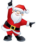 santa-claus-pointing-up-vector-17918472_