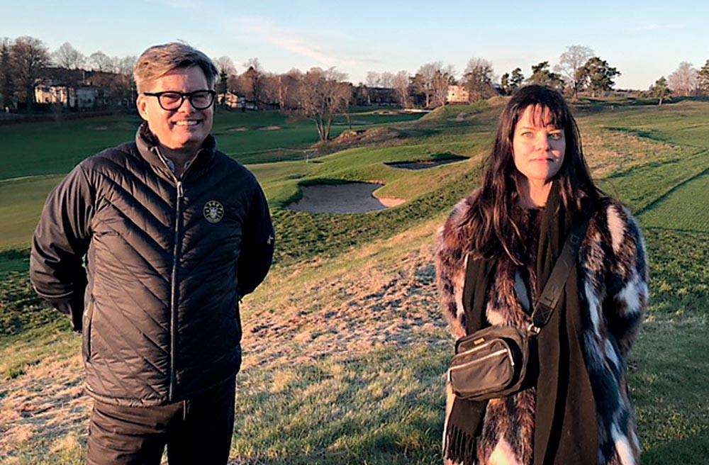 #stockholmsgolfklubb #hundrastgård #hundarpågolfbana