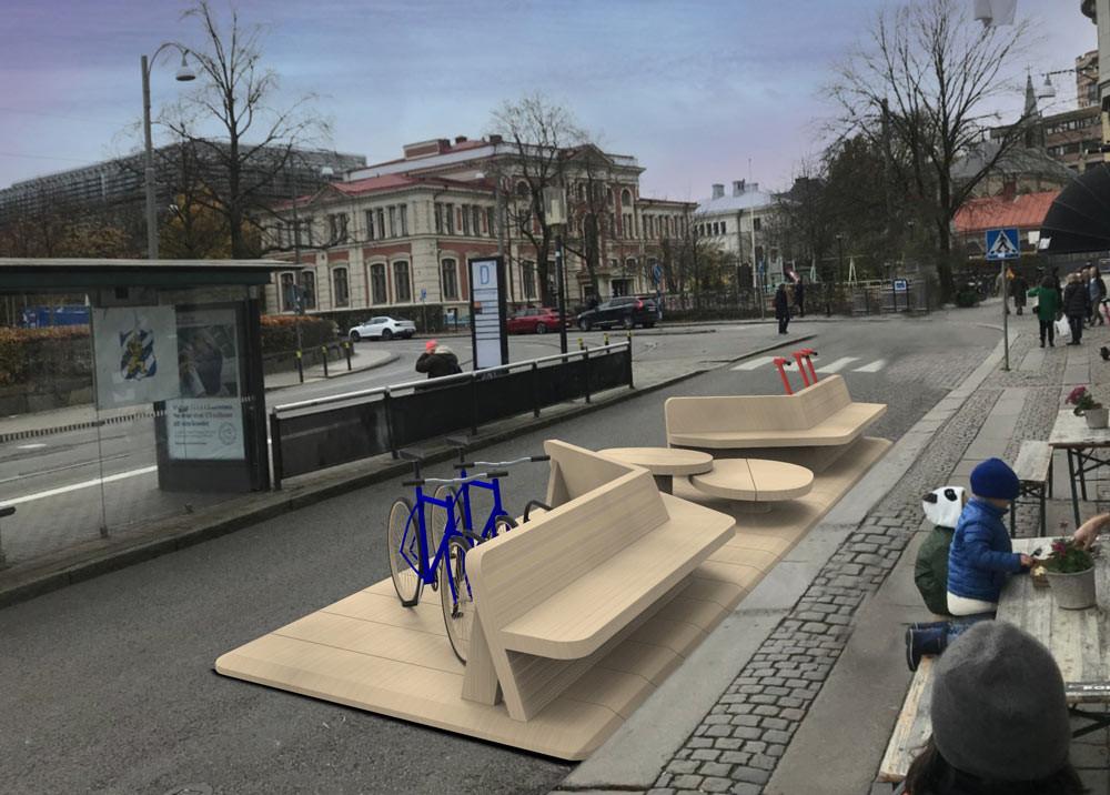 #streetmoves #gatumöbel #byggsats