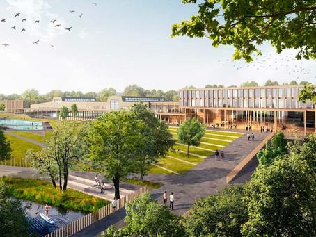 Fyrishovs utebad utvecklas till stadspark