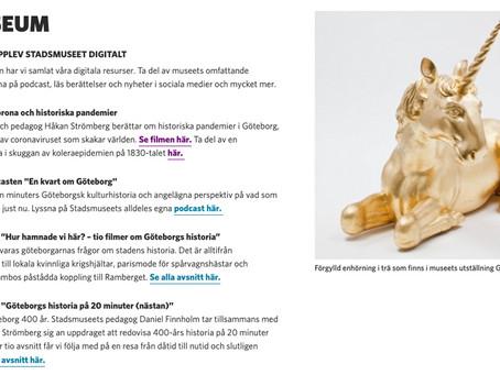 Digital rekordpublik för Göteborgs museer