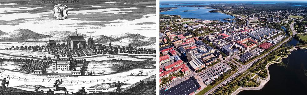 Historisk vandringsled i Piteå