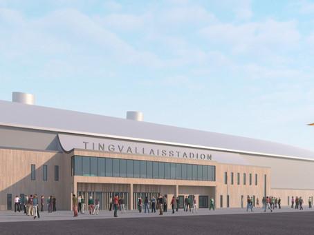 Isstadion byggs om till norra Europas största inomhusarena