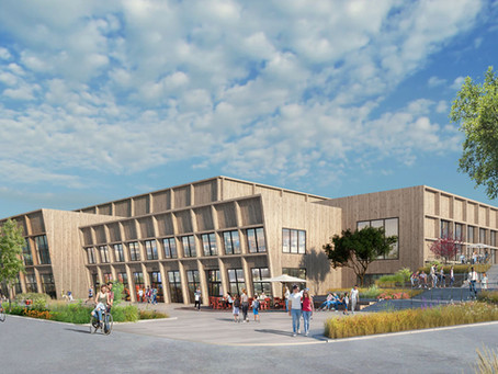Kalmars nya badhus blir samlingspunkt i ny stadsdel