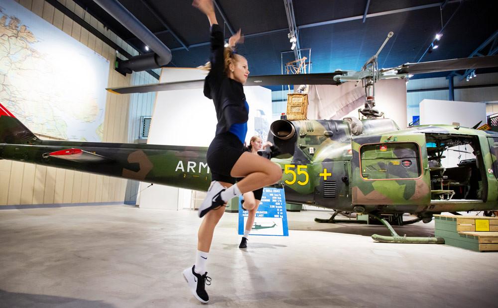 Evenemangen under Popupsommar i Boden äger rum på en mängd olika platser. Förra året gjordes till exempel en dansföreställning på Försvarsmuseum.