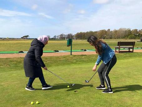 Golf för nya vänner är bra för klubben