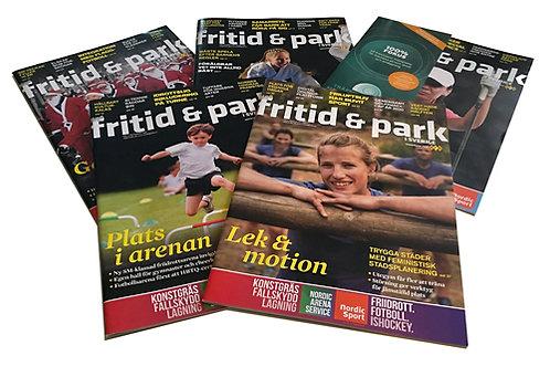 Fritid & Park i Sverige - 5 nummer per år