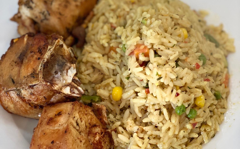 Fried Rice & Chicken