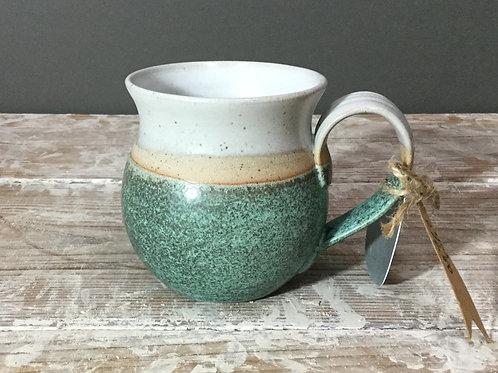 Green Rounded Mug