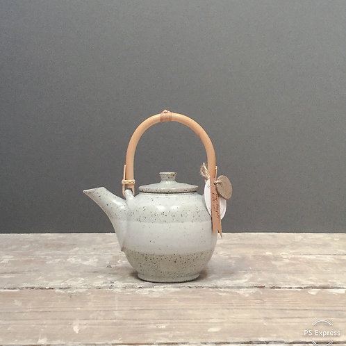 2 Cup Teapot with Bamboo Handle