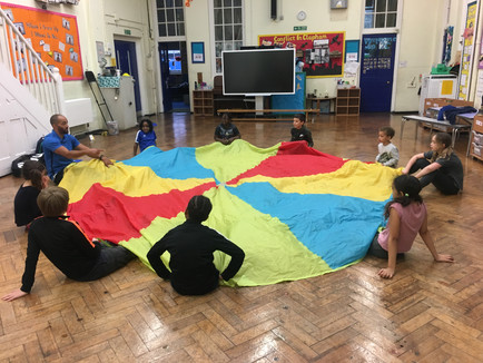 Sport Session at Wrights Academy Holiday Club