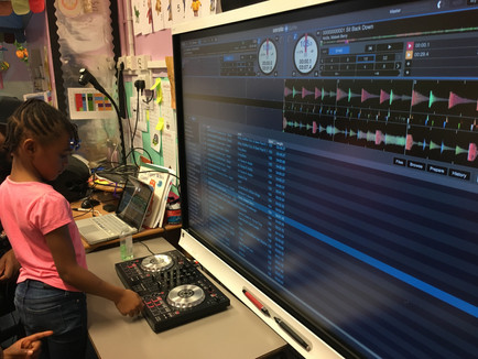 DJ Session at Wrights Academy Holiday Club