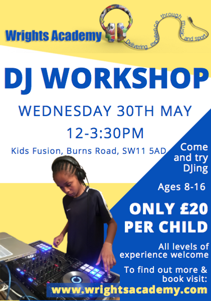 Wrights Academy DJ Workshop