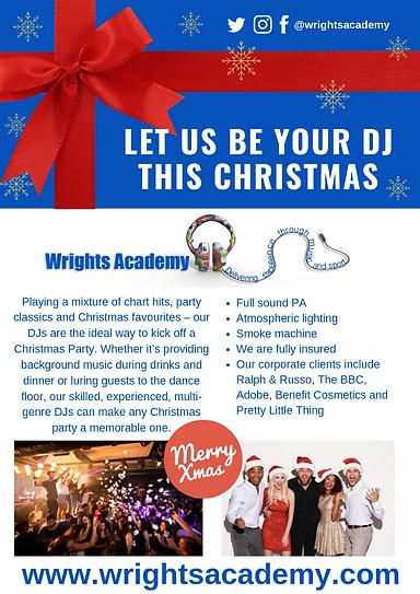 Christmas DJs Flyer