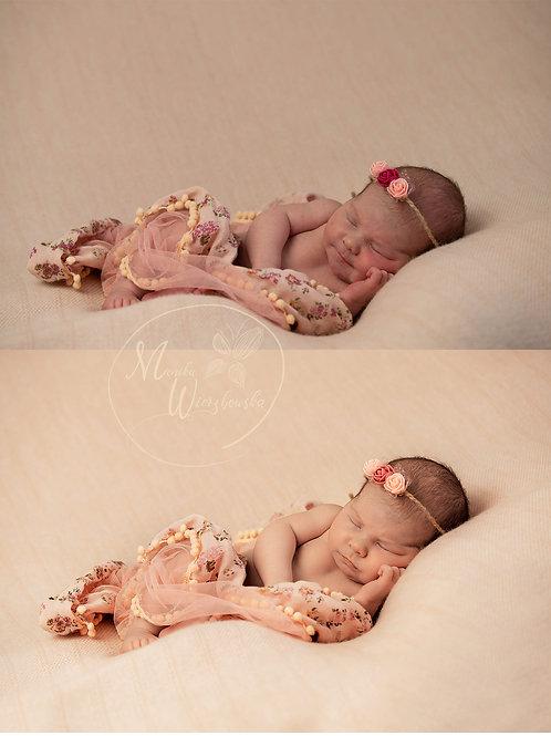 Akcje noworodkowe do Photoshop