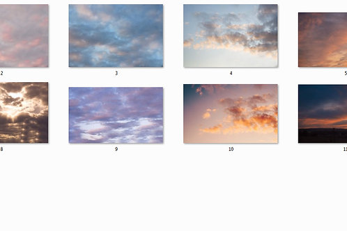 13 nakładek z niebem/ 13 overlays