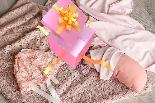 Box dziewczęcy- starter do sesji noworodkowych