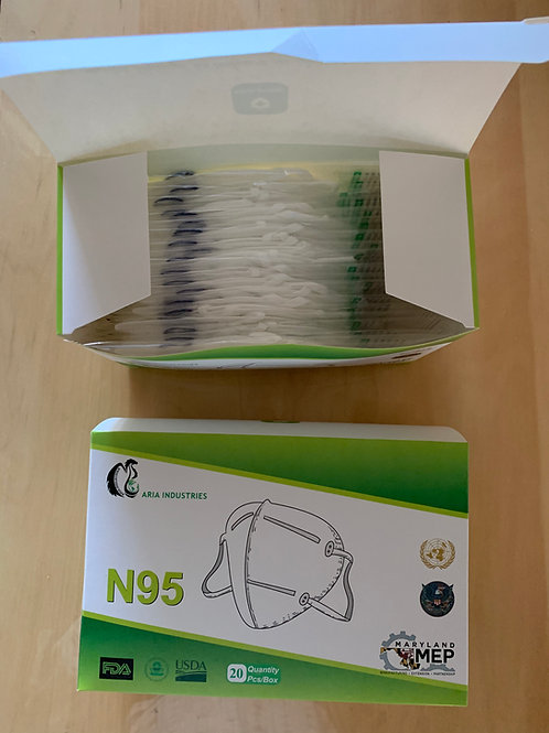 N95 Respirator Face Mask Medical Grade