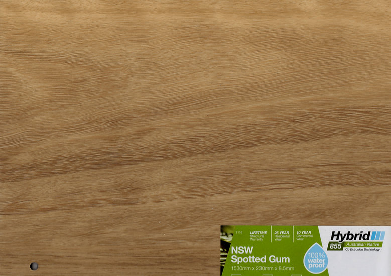 8.5mm NSW SPOTTED GUM CORSICA OAK HYBRID 1530x230